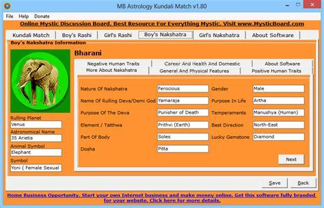 Gratis kundali match making software