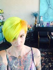 Bright Hair Colors on Pinterest