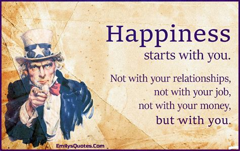 happiness starts      relationships