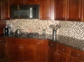 Glass Mosaic Tile Kitchen Backsplash