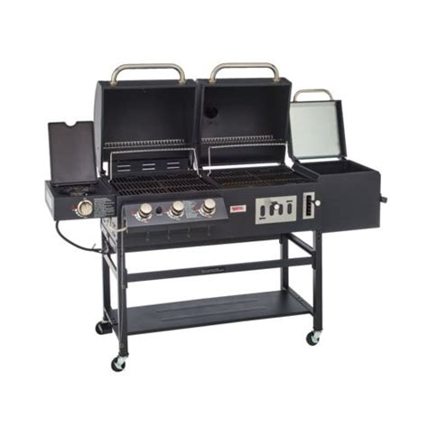 backyard pro grill outdoor gourmet triton classic gas charcoal grill and