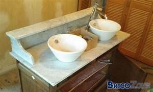 Percer Du Marbre : percer un marbre pour poser deux vasques ~ Melissatoandfro.com Idées de Décoration