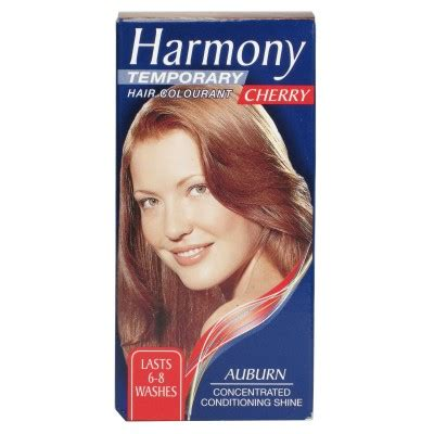 Harmony Hair Colour Cherry  Wash Out Dye Allcures