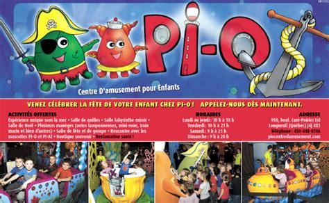 pi o centre d amusement pour enfants services tendances