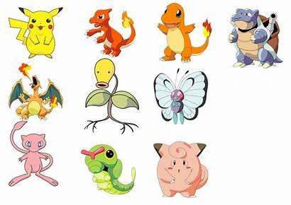 Pokemon Characters Character Names Clipart Eps Cartoon