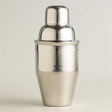 cocktail shaker mini stainless steel cocktail shaker world market