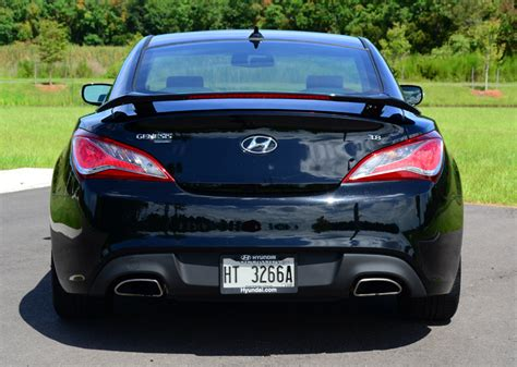 hyundai genesis coupe  track driving impressions