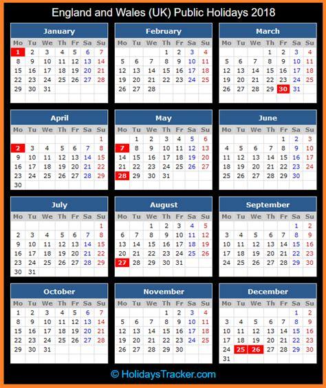 england wales uk public holidays uk holidays