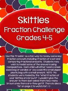 Skittles Fraction Challenge