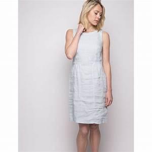 robe en lin bleu ciel duncan With robe en lin femme
