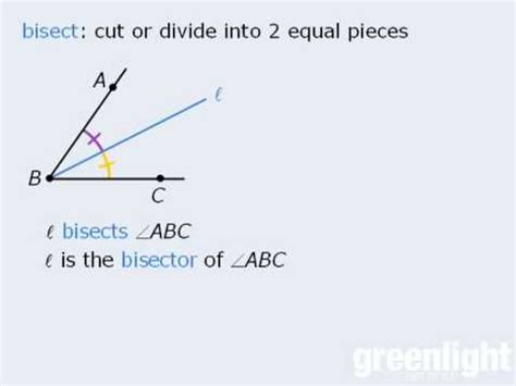 1 Gre Lesson  Lines And Angles Youtube