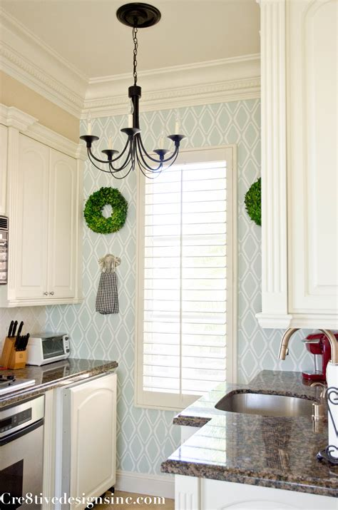 removable wallpaper  kitchen cabinets gallery