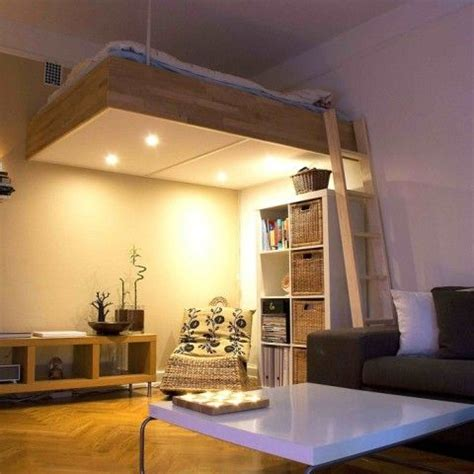 loft bedroom ideas adult loft bed bespoke wood lights best design 2016 12149 | 39347172c7659abc1155762af0c4f261