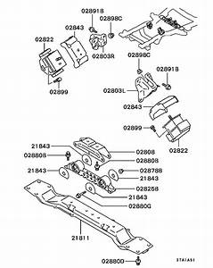 Engine Mounting  U0026 Support For 1996  2t Truck V16b