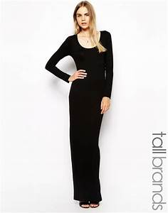 robes longues manches longues With robe noire basique