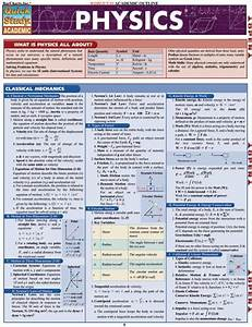Physics Laminated Reference Guide  U2013 The Economist Store