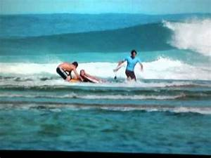 Shark Attack scene with clips from soul surfer with me and ...
