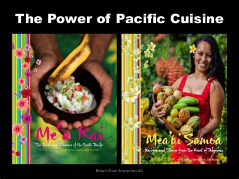 pacific cuisine the power of pacific cuisine