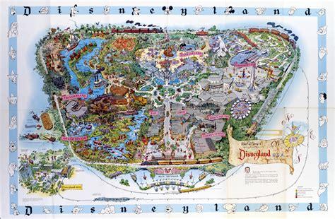 disneylands evolution  maps design architecture