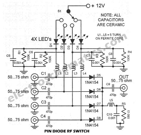 Switch With Pin Diode