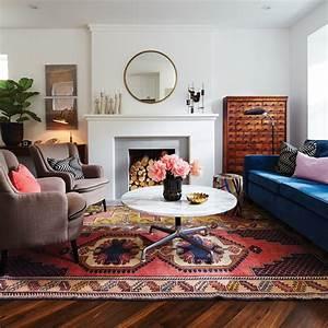 3 facons originales de decorer avec un tapis exotique for Tapis oriental avec canapé vintage la redoute