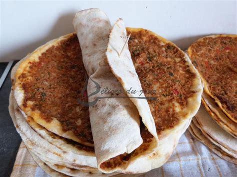 pizza turque lahmacun plat d 233 lices du jour