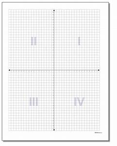 axis graph paper with numbers coordinate plane quadrant labels