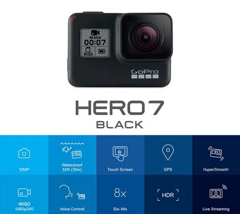 gopro hero black kmp action camera tackledirect