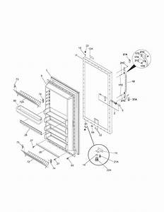 Kenmore Model 25324082101 Upright Freezer Genuine Parts