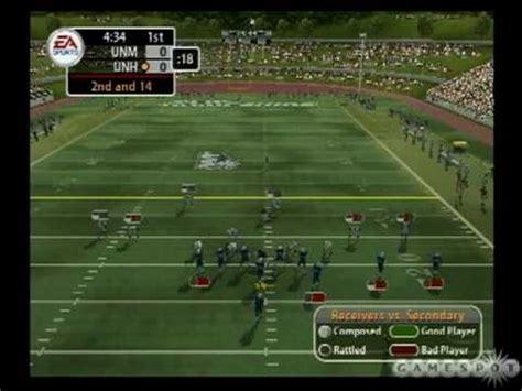 NCAA Football 2005 - Division II Teams - YouTube