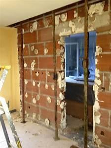 Faire Une Ouverture Dans Un Mur Porteur En Parpaing : casser un mur porteur les r gles suivre ~ Dailycaller-alerts.com Idées de Décoration