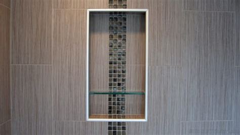 design preformed foam recessed shower niche
