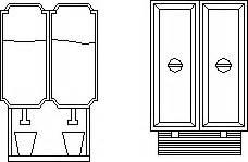Dispense Autocad by Juice Dispenser 2d Dwg Block For Autocad Designs Cad