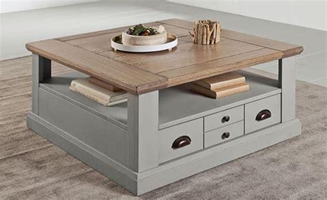relooking cuisine chene table basse carrée vazard