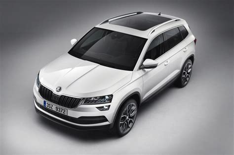 all new skoda karoq suv unveiled