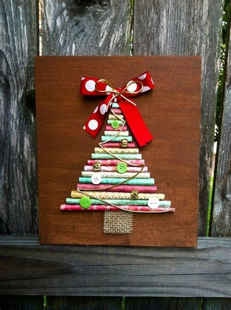 diy christmas tree art pictures   images