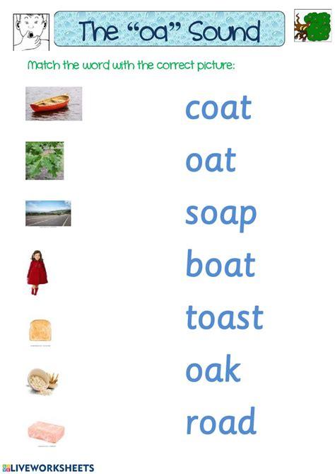 oa sound worksheet