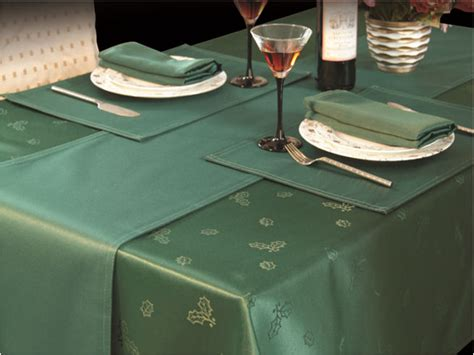28 best christmas table linen uk christmas tablecloth