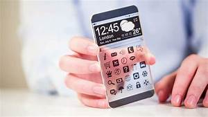 Futuristic Smart Phone (phablet) With A Transparent ...
