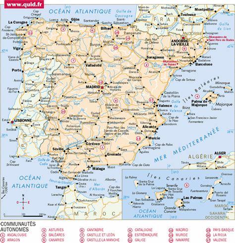 Carte Portugal Espagne by Carte Routi 232 Re Espagne Et Portugal Arts Et Voyages