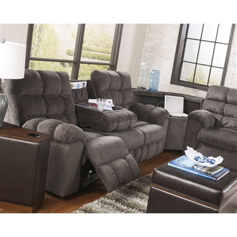 Reclining Loveseat With Cupholders by Reclining Sectional Sofa With Right Side Loveseat Cup