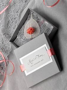 custom listing 100 box and lace wedding invitation With wedding invitation round box