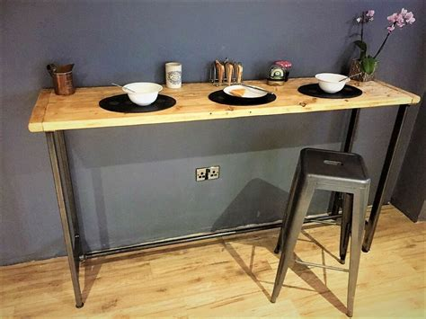 The Bar Table - breakfast bar table bistro table poseur table