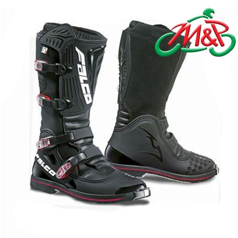motocross motorcycle boots falco dust ls mx motocross motorcycle boots black 42 ebay