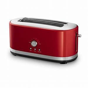 Kitchen Aid Toaster : kitchenaid kmt4116cu 4 slice long slot toaster with high lift lever contour silver ~ Yasmunasinghe.com Haus und Dekorationen