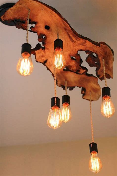 natural diy wood chandelier ideas homemydesign