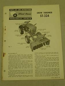 1963 Wheel Horse Tractor St