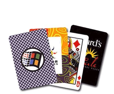 custom printed playing cards  premium quality stock