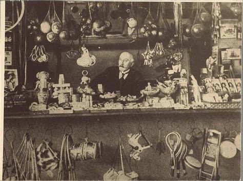 george melies and hugo cabret georges melies in his toy shop in the gare montparnasse