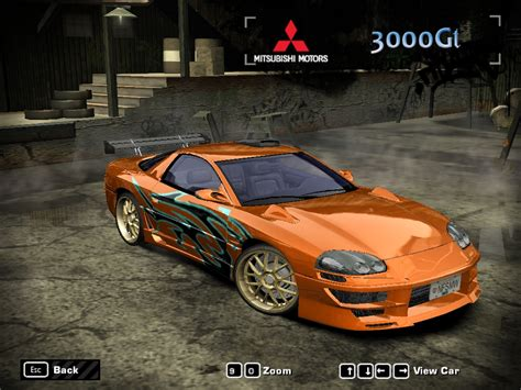 speed  wanted mitsubishi gt nfscars